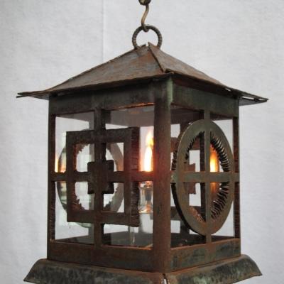 Artistic Steel Lantern