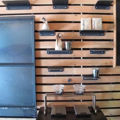 Modular Shelves and Drop Down Countertop