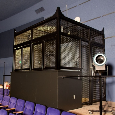 Sound and Lighting Booth for an Auditorium in Oakland, CA
