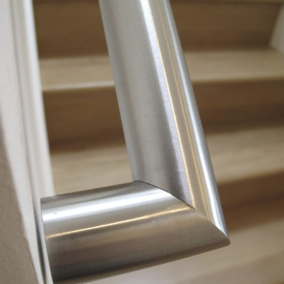 Brushed Stainless Steel Handrails
