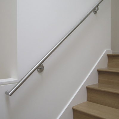 Stainless Handrails - Full View