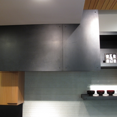 Steel Cladding - Hood Detail