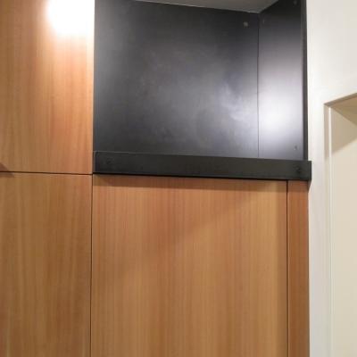 Steel Clad Kitchen Cubby